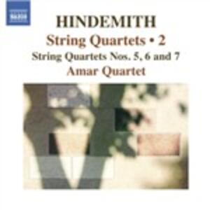 Quartetti per archi vol.2 - CD Audio di Paul Hindemith