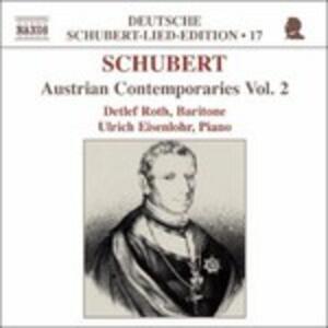 Austrian Contemporaries vol.2. Lieder - CD Audio di Franz Schubert