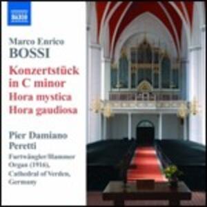 Opere per organo - CD Audio di Marco Enrico Bossi,Pier Damiano Peretti