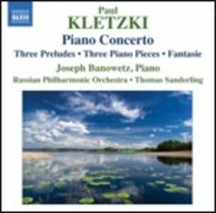 Concerto per pianoforte - Brani per pianoforte - CD Audio di Paul Kletzki,Russian Philharmonic Orchestra,Thomas Sanderling,Joseph Banowetz