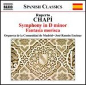 Sinfonia in Re minore - Fantasia morisca - CD Audio di Ruperto Chapí,José Ramon Encinar,Madrid Community Orchestra