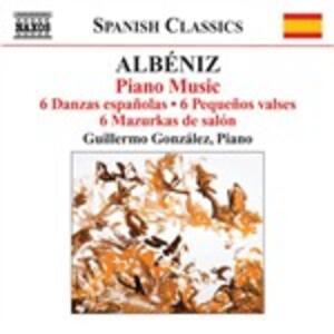 Opere per pianoforte complete vol.3 - CD Audio di Isaac Albéniz,Guillermo Gonzales