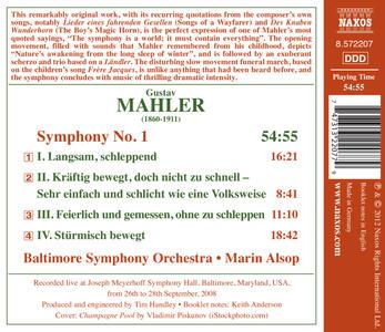 Sinfonia n.1 - CD Audio di Gustav Mahler,Marin Alsop - 2