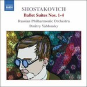Ballet Suites n.1, n.2, n.3, n.4 - CD Audio di Dmitri Shostakovich,Russian Philharmonic Orchestra,Dmitri Yablonsky