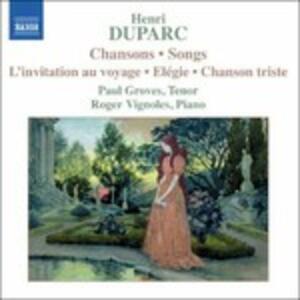 Chansons - CD Audio di Henri Duparc