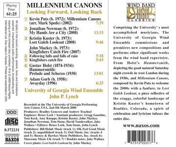 Millennium Canons - CD Audio di Kevin Puts - 2