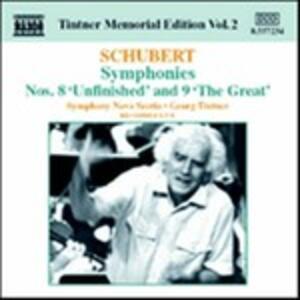 Sinfonie n.8, n.9 - CD Audio di Franz Schubert,Georg Tintner