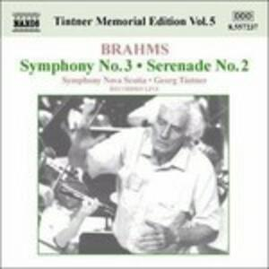 Sinfonia n.3 - Serenata n.2 - CD Audio di Johannes Brahms