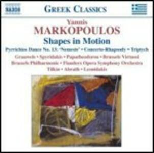 Shapes in Motion - Concerto-Rapsodia - Piccola Fantasia - CD Audio di Yannis Markopoulos