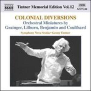Colonial Diversions - CD Audio di Georg Tintner