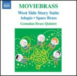 Moviebrass (Colonna Sonora) - CD Audio di Gomalan Brass Quintet