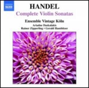 Sonate per violino - CD Audio di Georg Friedrich Händel,Ariadne Daskalakis