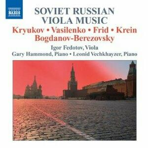 Soviet Russian Viola Music - CD Audio