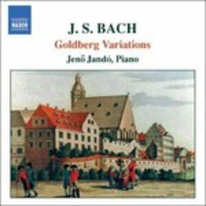 Variazioni Goldberg - CD Audio di Johann Sebastian Bach,Jeno Jandó