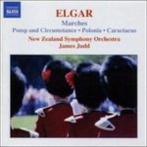 Marce - Pomp and Circumstance - CD Audio di Edward Elgar,New Zealand Symphony Orchestra,James Judd