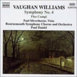 Sinfonia n.4 - Flos Campi - Norfolk Rhapsody n.1 - CD Audio di Ralph Vaughan Williams