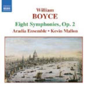 Sinfonie n.1, n.2, n.3, n.4, n.5, n.6, n.7, n.8 - CD Audio di William Boyce