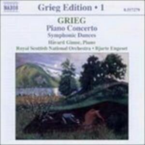 Concerto per pianoforte - In autunno op.11 - Danze sinfoniche - CD Audio di Edvard Grieg