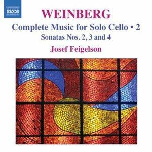 Musica per violoncello vol.2 - CD Audio di Mieczyslaw Weinberg,Josef Feigelson