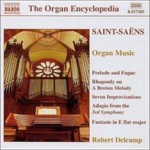 Musica per organo - CD Audio di Camille Saint-Saëns
