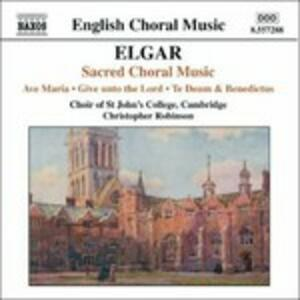 Musica sacra corale - CD Audio di Edward Elgar