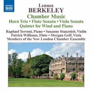 Trio con corno - Sonatina per flauto - Sonata per viola - Quintetto con pianoforte e fiati - CD Audio di Lennox Berkeley,New London Chamber Ensemble