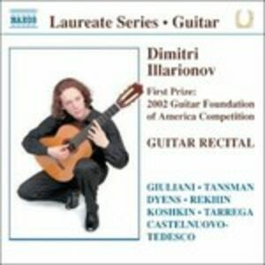Guitar Recital - CD Audio di Dimitri Illarionov