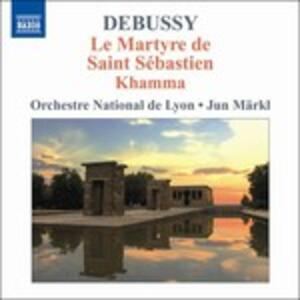 Le Martyre De Saint Sebas - CD Audio di Claude Debussy