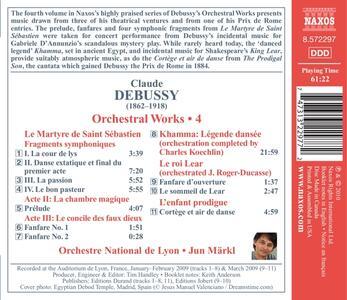 Le Martyre De Saint Sebas - CD Audio di Claude Debussy - 2