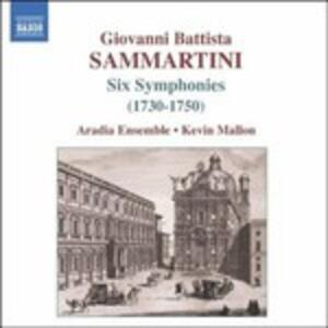 6 Sinfonie - CD Audio di Giovanni Battista Sammartini