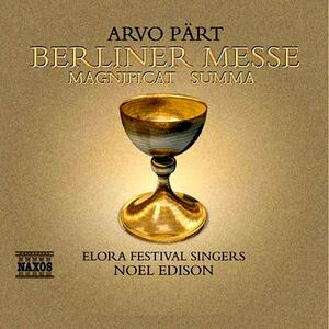 Berliner Messe - CD Audio di Arvo Pärt