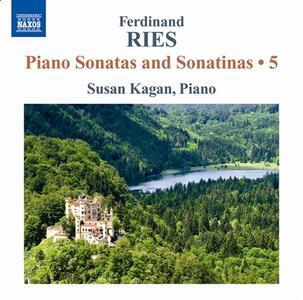 Sonate e sonatine per pianoforte - CD Audio di Ferdinand Ries,Susan Kagan