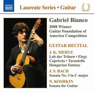 Guitar Recital - CD Audio di Gabriel Bianco