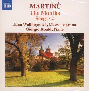 Lieder vol.2 - CD Audio di Bohuslav Martinu