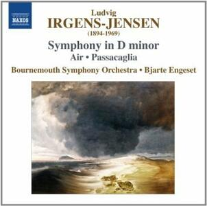 Sinfonia in Re minore - Passacaglia - CD Audio di Ludvig Irgens-Jensen