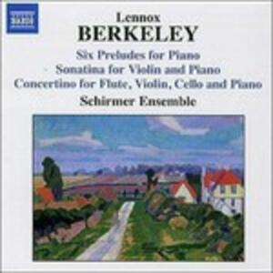 Musica da camera - CD Audio di Lennox Berkeley