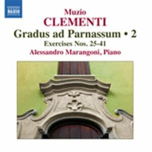 Grandus Ad Parnassum vol.2 - CD Audio di Muzio Clementi,Alessandro Marangoni
