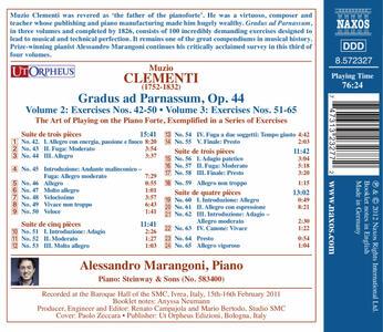 Gradus Ad Parnassum vol.3 - CD Audio di Muzio Clementi - 2