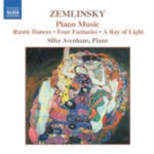 Rustic Dances op.1 - CD Audio di Alexander Von Zemlinsky,Silke Avenhaus