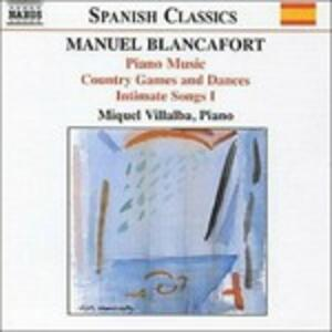 Musica per pianoforte vol.2 - CD Audio di Manuel Blancafort