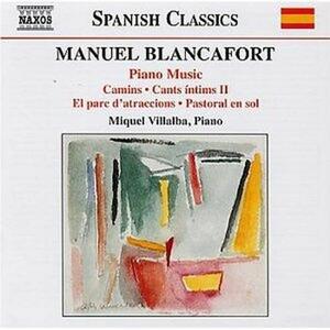 Musica per pianoforte vol.3 - CD Audio di Manuel Blancafort