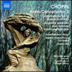 Concerto per pianoforte n.2 - Variazioni su Là ci darem la mano - Andante spianato e grande polacca brillante - CD Audio di Fryderyk Franciszek Chopin,Eldar Nebolsin
