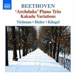Trii per archi e pianoforte vol.5 - CD Audio di Ludwig van Beethoven