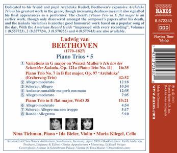 Trii per archi e pianoforte vol.5 - CD Audio di Ludwig van Beethoven - 2