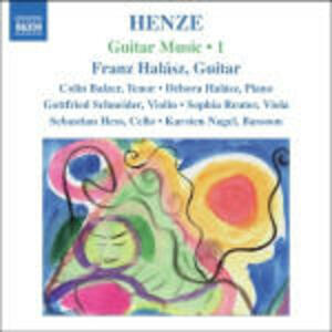 Guitar Music vol.1 - CD Audio di Hans Werner Henze