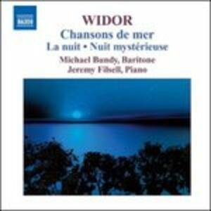 Songs - CD Audio di Charles-Marie Widor
