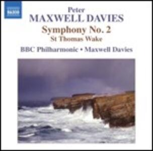 Sinfonia n.2 - St.Thomas Wake - CD Audio di Sir Peter Maxwell Davies