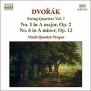 Quartetti per archi vol.7 - CD Audio di Antonin Dvorak
