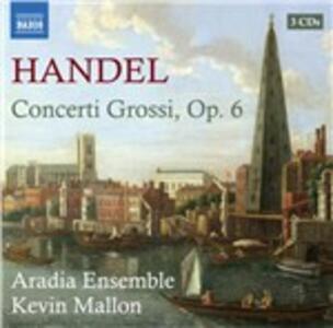 Concerti grossi op.6 - CD Audio di Georg Friedrich Händel