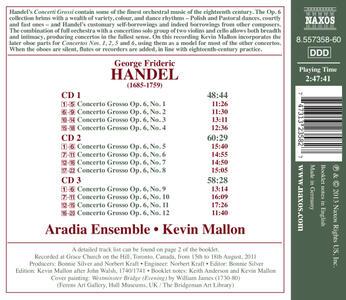 Concerti grossi op.6 - CD Audio di Georg Friedrich Händel - 2